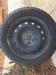 "New winter tires and rims 5x112 Blizzaks WS80's 16"" rims"