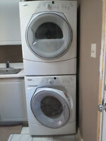 Whirlpool Stackable Washer/Dryer