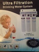 Novo 3 stage Ultra water filter
