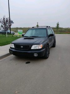 Wrx swapped 2002 Forester s