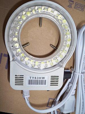 1pc 56 White Led Ring Light Illuminator For Meiji Emz Emz5 Microscope