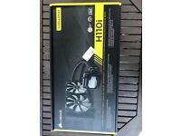boxed never used Corsair H110i CPU liquid cooler