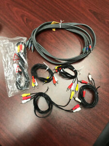 Package Deal Assorted TV Cable/Satellite TV Cables & Accessories