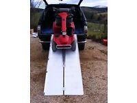 ALUMINIUM SUITCASE STYLE RAMPS FOR WHEELCHAIRS