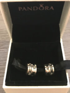 Authentic Pandora Clip Charms Set of 2