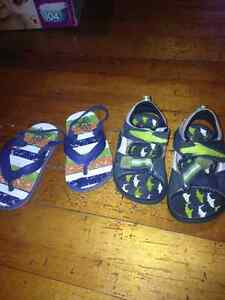 Boys shoes and sandles size 7 London Ontario image 5
