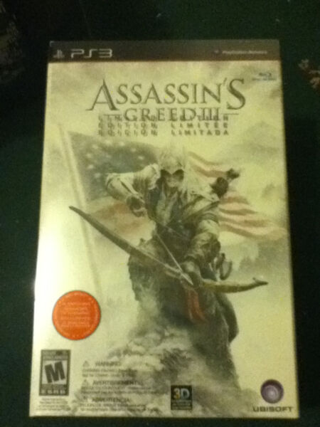 Assassin's Creed 3 - Limited Edition (PS3)