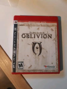 The Elder Scrolls 4: Oblivion (PS3)