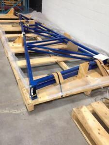 Potence de 750lbs avec palan pneumatique --- 750lbs capacity Jib crane with pneumatic hoist