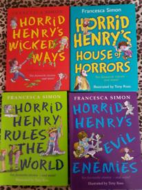"""13 Books """"Horrid Henrys""""Francesca Simon."""