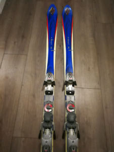 used K2 ski and boots 174cm, boots size US12 or 28.5