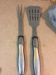 BBQ Flipper and fork FREE