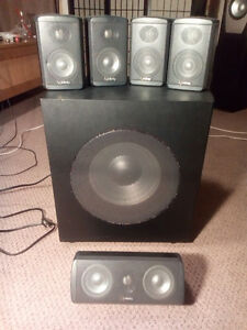 Infinity TSS750 5.1 surround sound speaker system