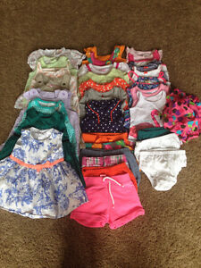 Girls Baby Clothes - 3 month Summer Lot