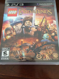 PS3 Lego The Lord of the Rings game