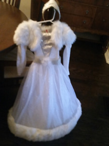 Girls Snow Princess Costume