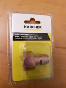Karcher gas pressure washer quick connect plyg