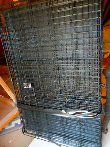 DOG CRATE- PET LODGE WIRE DOG CRATE