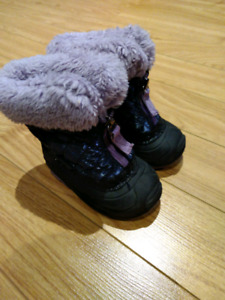 Infants Girls Winter Boots Size 5