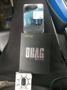 Voopoo drag mod with crown 3 tank