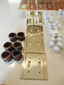 250 pcs.Of Cupboard, Dresser Knobs, Handles& Wood Plate Covers Kitchener / Waterloo Kitchener Area image 8