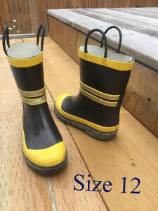 Kid / children rain boots, kid winter snow boots