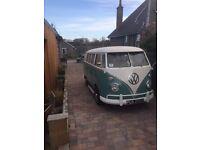 VW Splitscreen Camper 1966
