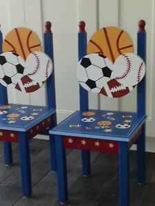 Wooden Kids Sports Chairs