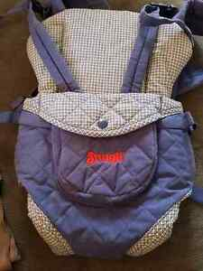Snugli front facing baby carrier
