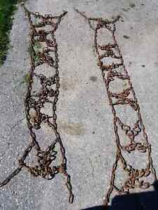 Tractor tire chains Xpattern link