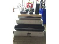 Sky boxes & on demand wireless