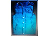 JACK WILLS XS MENS GILLET, LIKE NEW