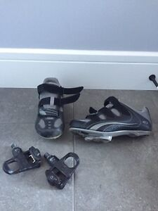 Cycling clips   & shoes