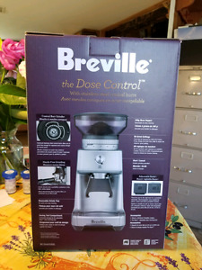 Brand new Breville the Dose Control coffee grinder