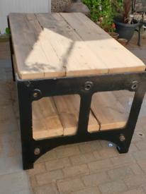 Reclaimed bench