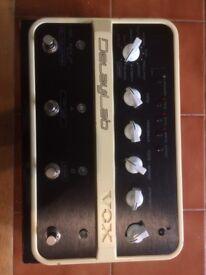 Vox delaylab guitar delay fx pedal