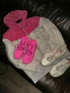 Winter jacket 20$ shoes 10$ each pair