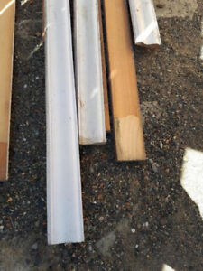 Solid Wood Baseboard/Moulding - Used