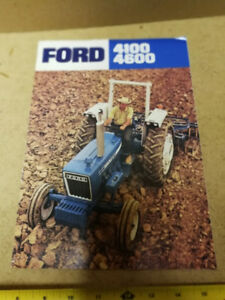 FORD TRACTOR MODELS 4100 & 4600 BROCHURE