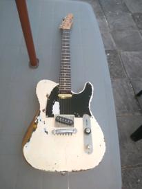 Status Quo -- Rick Parfitt Replica Telecaster Guitar