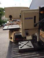 Bandsaw drill press