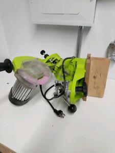 Timber Tuff Electric Chain Saw Chain Sharpener