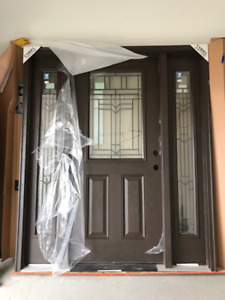 Fiberglass Entrance Door & Sidelights