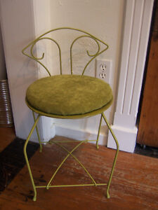 Vintage Vanity Chair with cushion