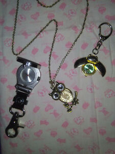 JewelBe .Beautiful and ldy bug plus men belt with silver skulls.