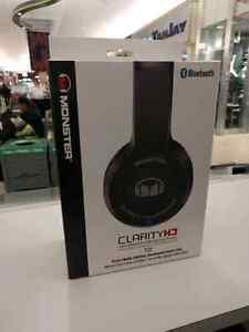 Bluetooth Headphones - Monster Clarity HD