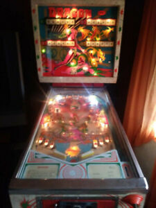 1977 EM Dragon Pinball Machine