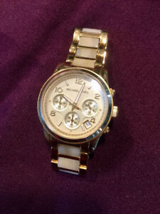 Ladies Michael Kors Gold Watch