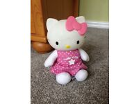 Hello Kitty toy Good night soft musical lullaby lamp