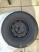Michelin xw4 spare tire p205/70 r15